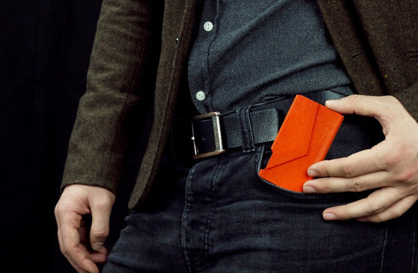 Nighthawk Card Holder Orange - Vanacci  - 1