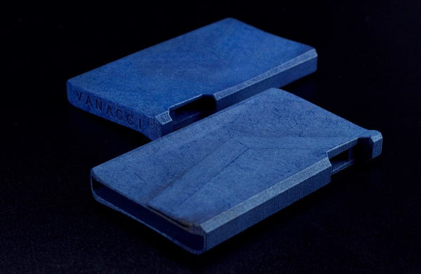 Nighthawk Card Holder Denim - Vanacci  - 1
