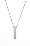 Vanacci mens element pendant in Vanadium on a stainless steel chain