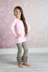 Brighton Icing Shirt - Light Pink - Pearls and Piggytails