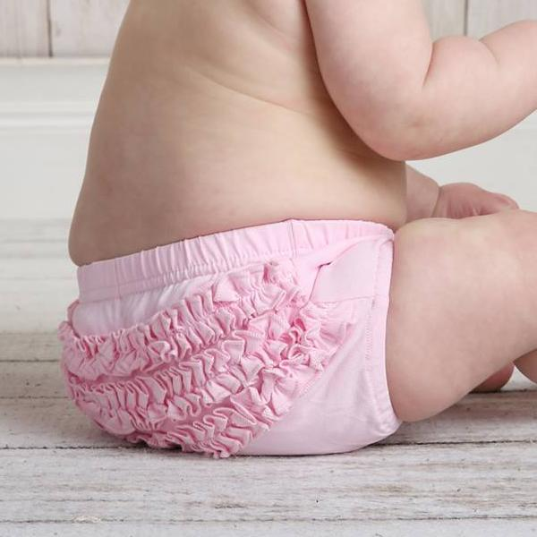 PREORDER Brylee Baby Bloomer - Light Pink