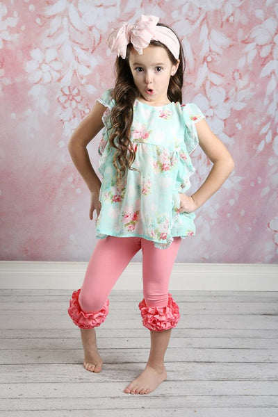 Capri Icing Leggings - Taffy