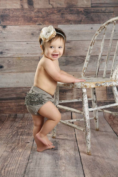 Brylee Baby Bloomer - Taupe