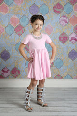 Mia - Light Pink - Pearls and Piggytails