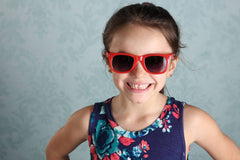 Sunnies - Retro Red - Pearls and Piggytails