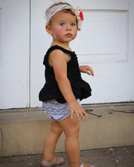 Brylee Baby Bloomer - T-Shirt - Pearls and Piggytails