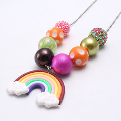 Chunky Bubblegum Necklace - Style B6