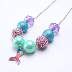 Chunky Bubblegum Necklace - Style B3