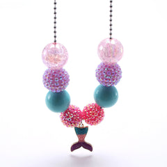 Chunky Bubblegum Necklace - Style B5