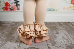 Bella Triple Ruffle Pants - Oat