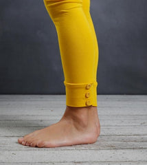 PREORDER Sutton Button Leggings - Mustard