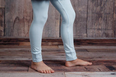 Sutton Button Leggings - Sky