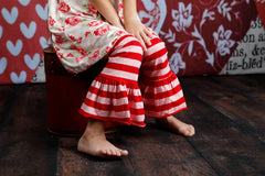Ellie Ruffle Pants - Romeo and Juliet