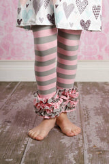 Icing Ruffle Leggings - Everlasting Love