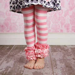 Icing Ruffle Leggings - Crazy 4 U