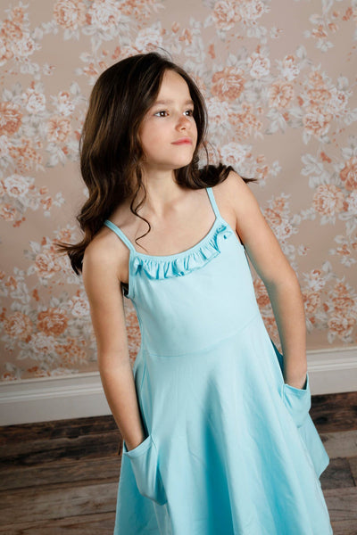 Kendal Dress - Aqua