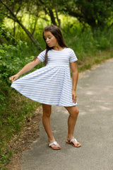 Mia Dress - Carolina Stripe