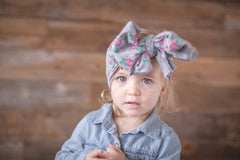 Messy Wrap Headband - Josie - Pearls and Piggytails