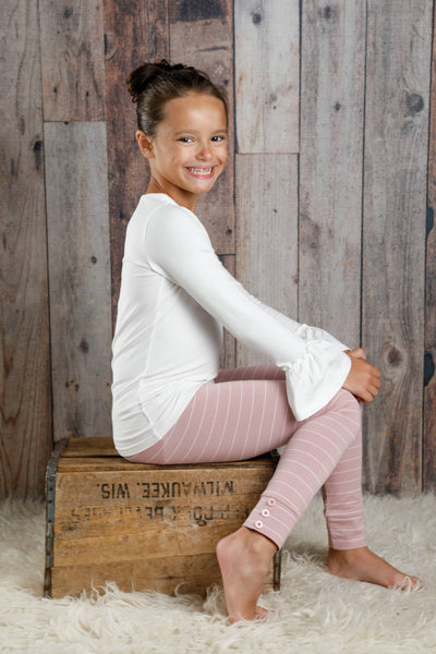 Sutton Button Leggings - Lexi Lou