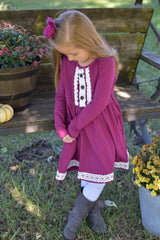 Clarissa Dress - Raspberry