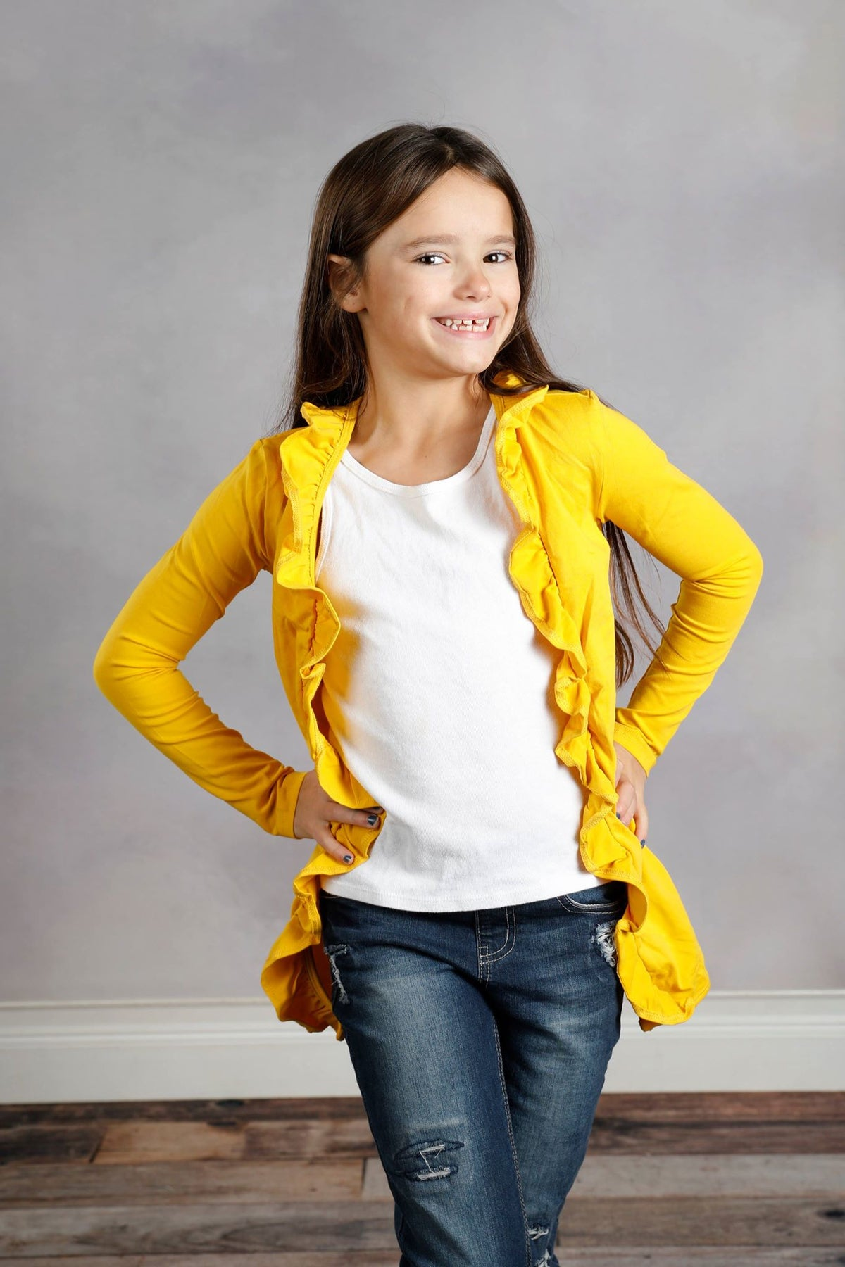Cambrie Jacket - Mustard