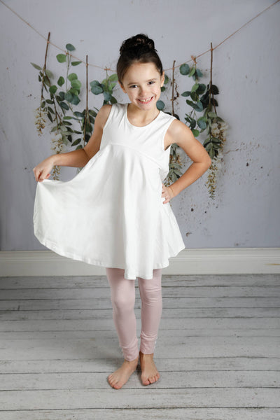 Mary Grace Tunic - Soft White