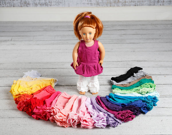 Doll Ruffle Pants - 26 Colors