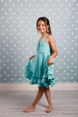 Maisie Dress - Tiffany