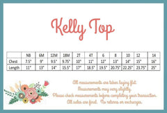 Kelly Top - Soft White