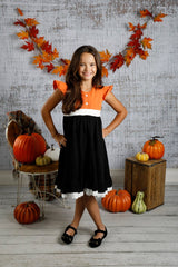 Victoria Dress - Pumpkin Pie