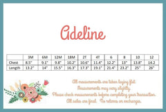 Adeline Dress - Playful Perenial