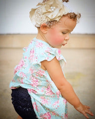 Brylee Baby Bloomer - Denim - Pearls and Piggytails