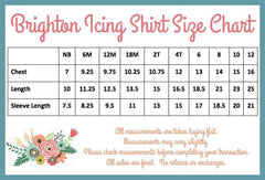 PREORDER Brighton Icing Shirt - Black - Pearls and Piggytails