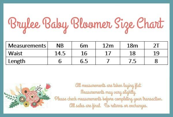 Brylee Baby Bloomer - Red
