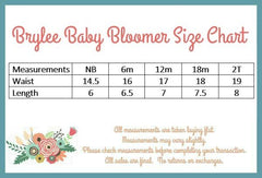 Brylee Baby Bloomer - Light Blue