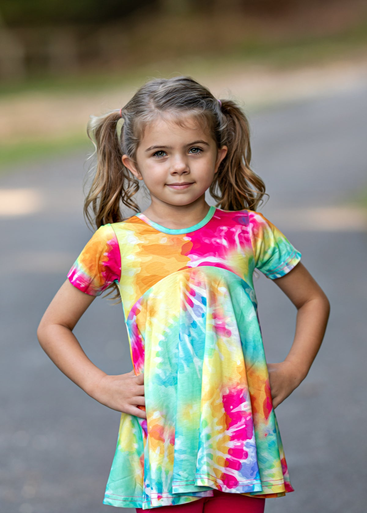 Kelly Top - Tie Dye
