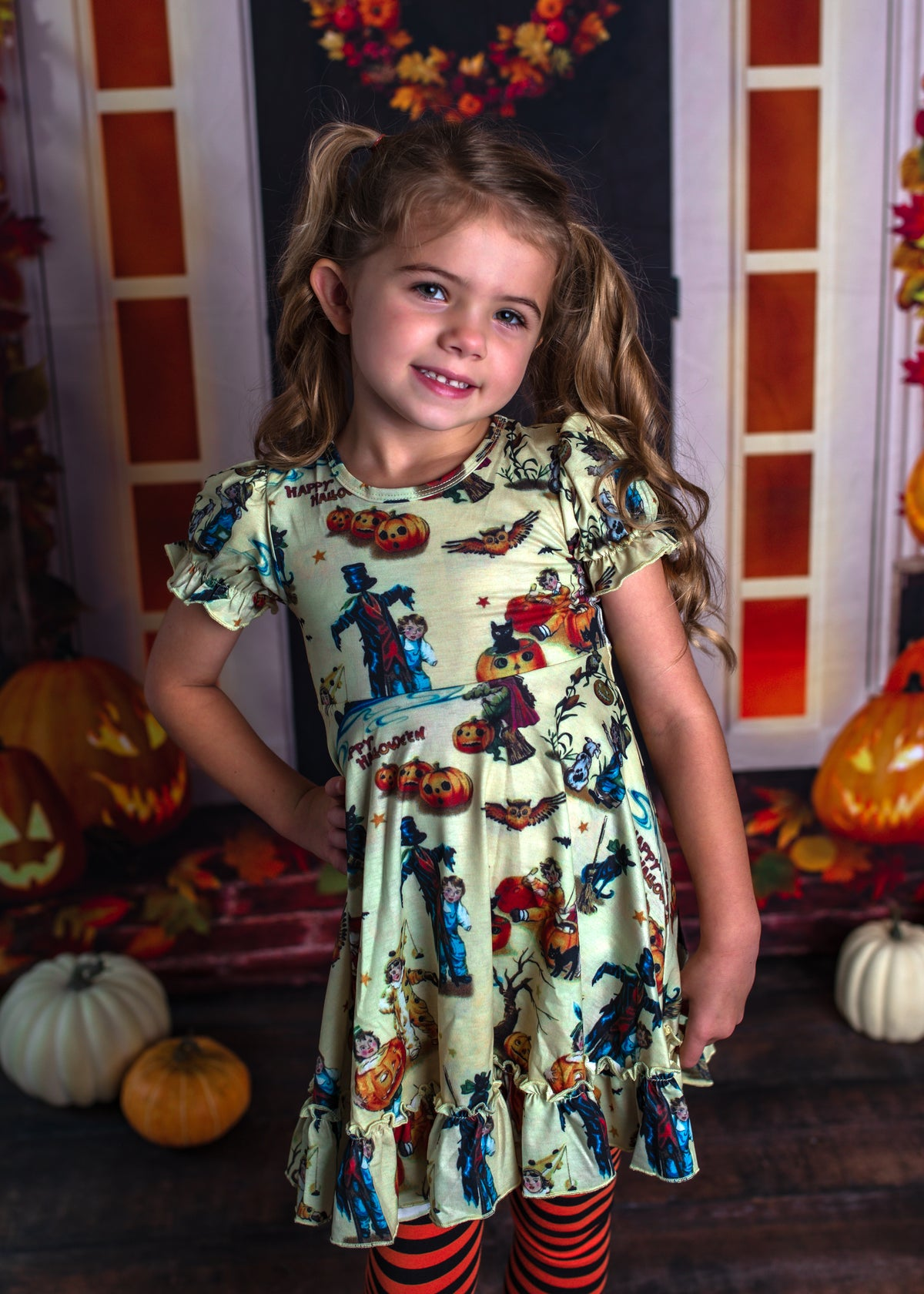 Charlotte Dress - Vintage Spooky