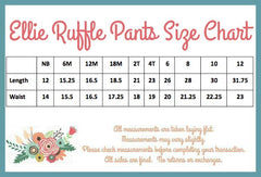 Ellie Ruffle Pants - - Pearls and Piggytails