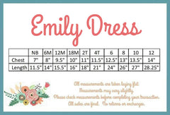 Emily Dress - Easter Egg Hunt