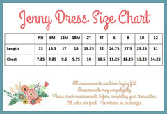 Jenny Dress - Easter Chic