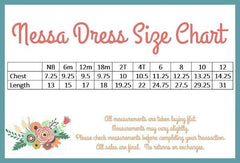 Nessa Dress - Tiffany - Pearls and Piggytails