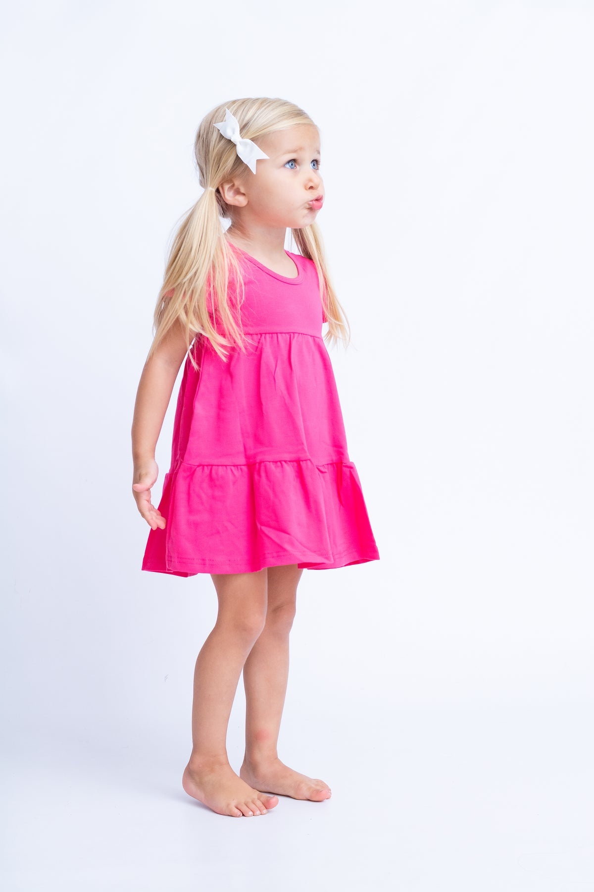 Alice Dress - Hot Pink