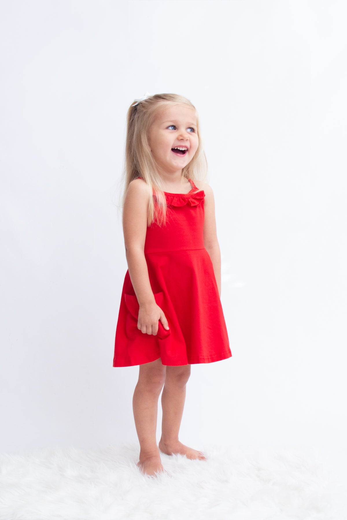 Kendal Dress - Red