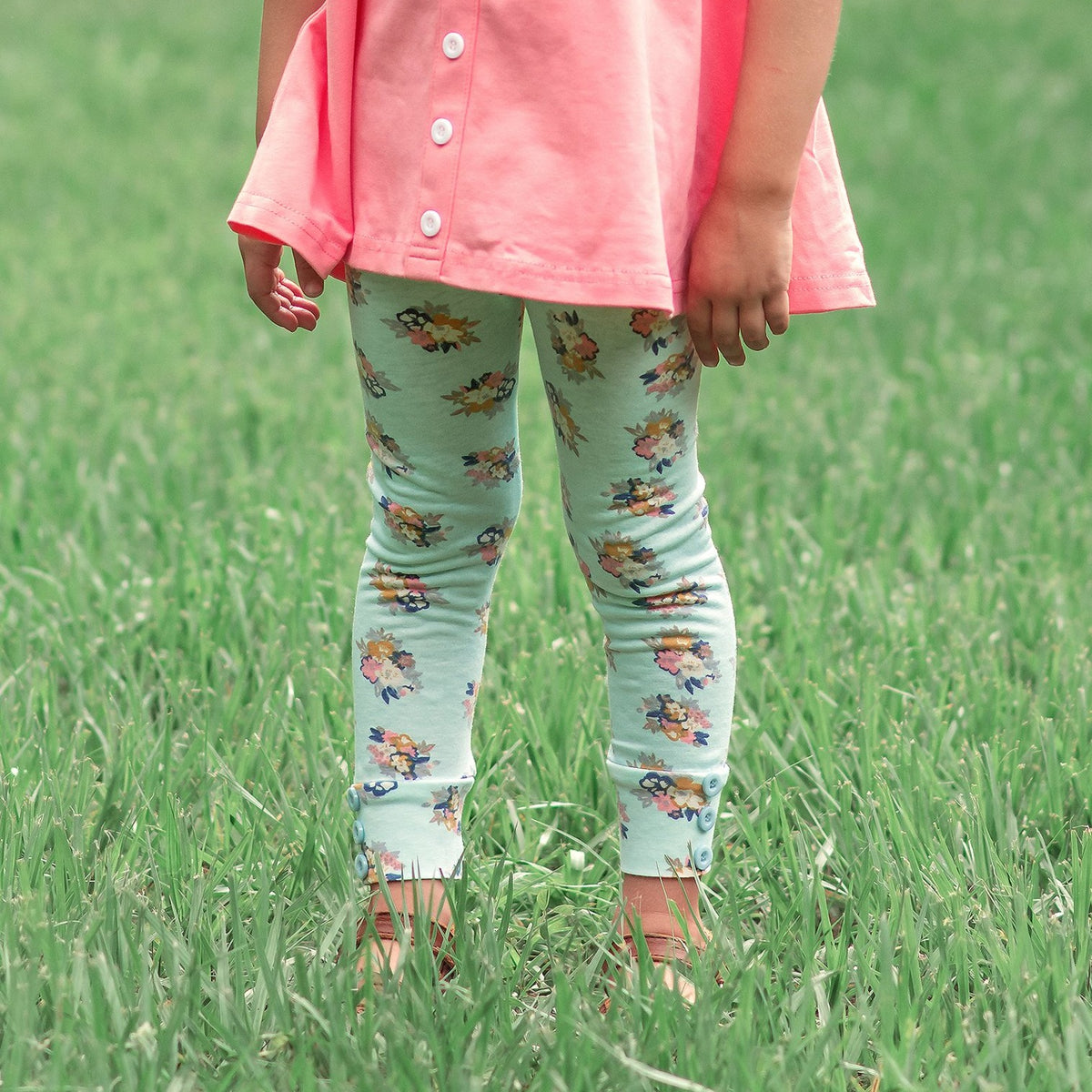 Sutton Button Leggings - Take The Back Roads