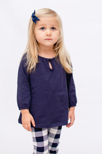 Marlow Top - Navy