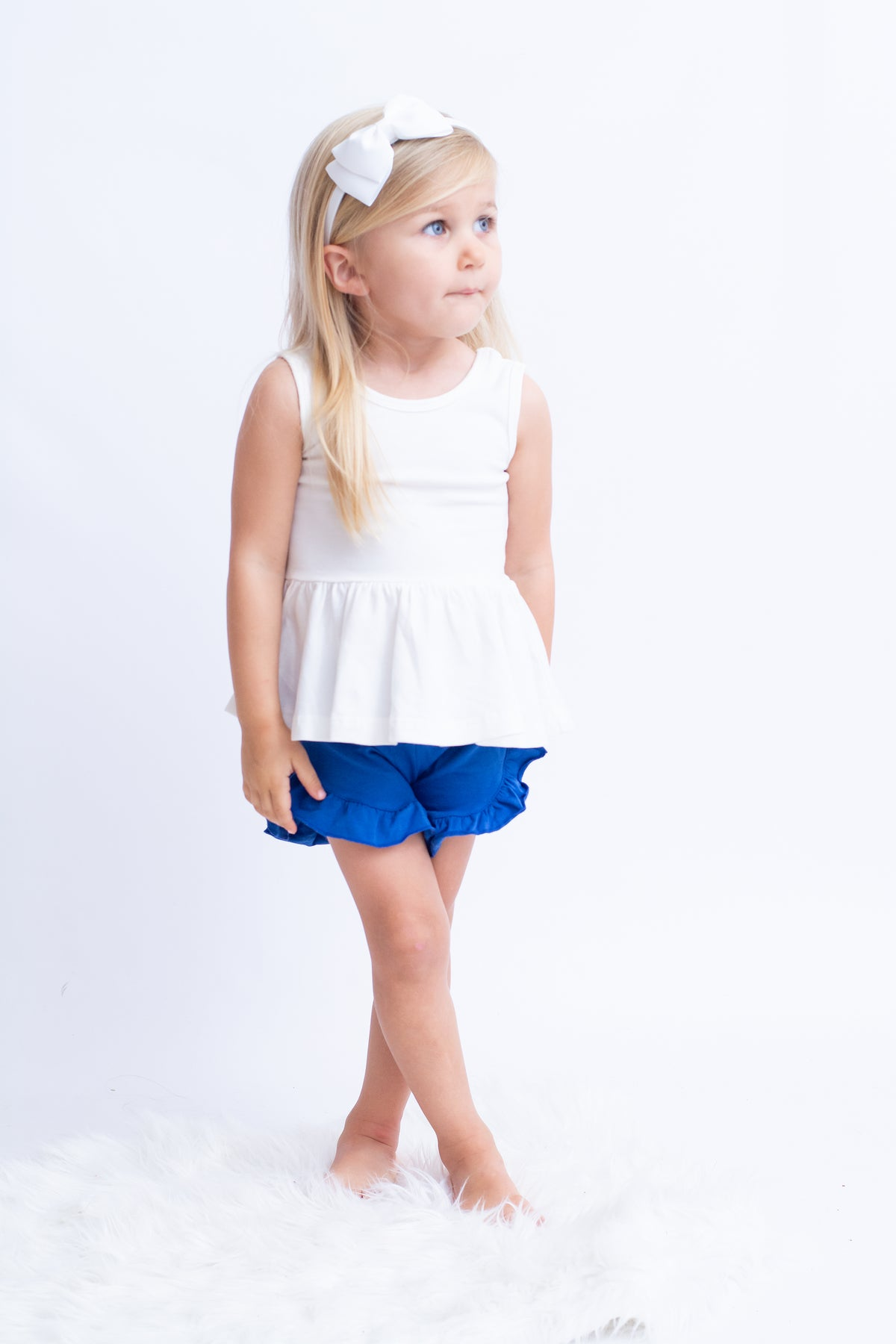 Poppy Shorts - Royal