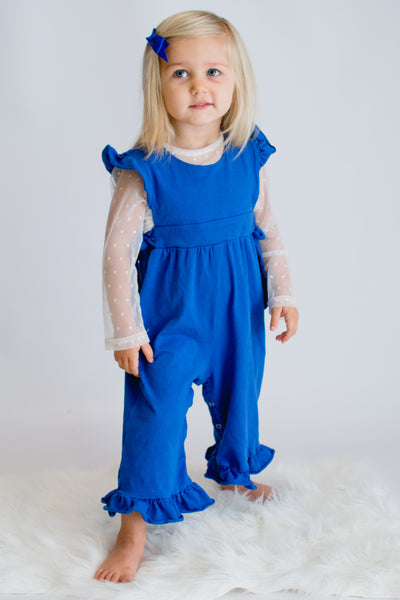 Reagan Romper - Royal