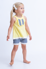 Brielle Top - Light Yellow
