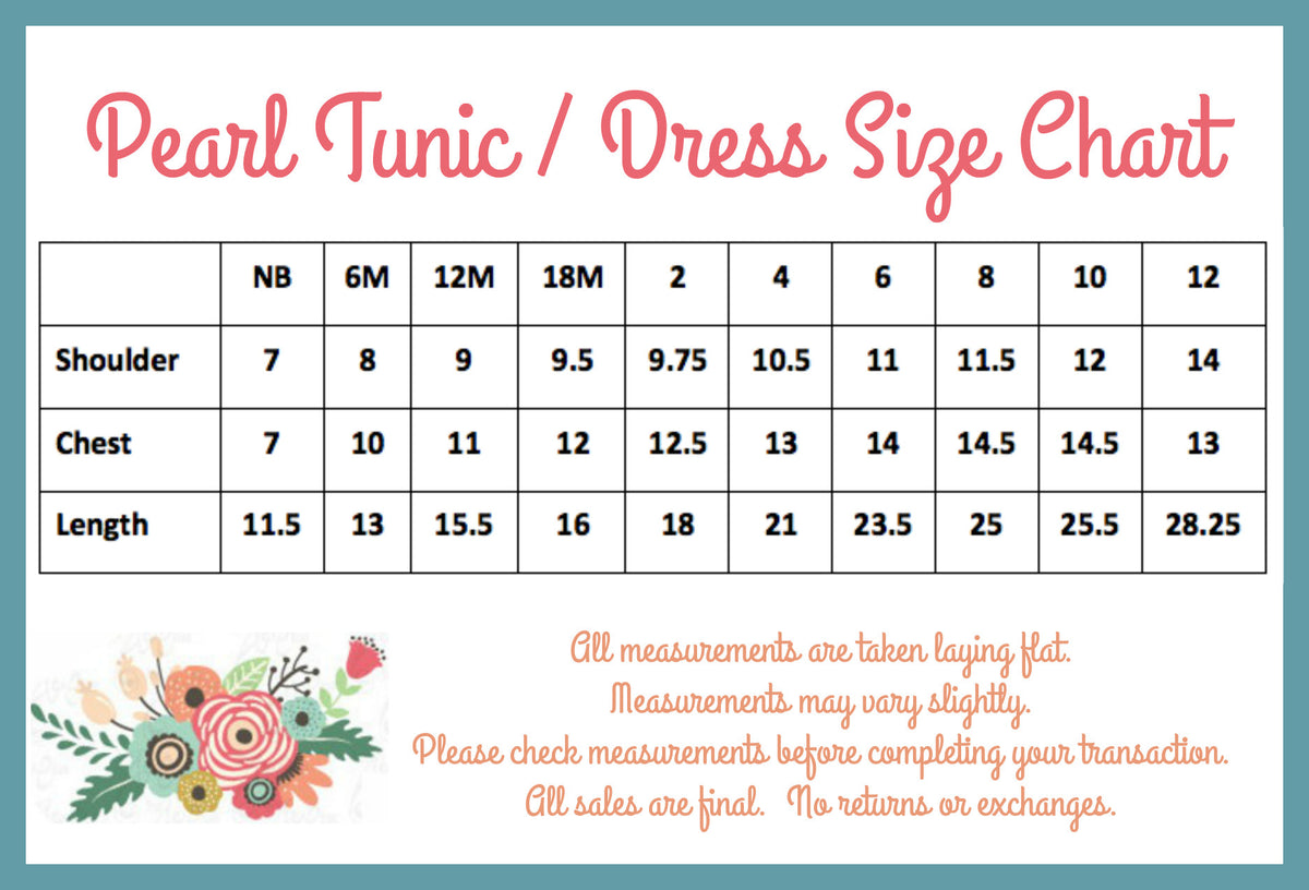 PREORDER Pearl Dress - Denim - Pearls and Piggytails