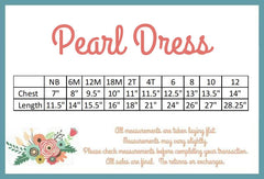 Pearl Dress - Aqua